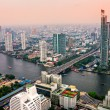 Bangkok Skyline, Thailand - Stock Photo