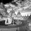 Stock Photo: Borobudur Temple, Yogyakarta, Java, Indonesia.