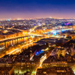 Paris at night. — Stock Photo