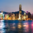 Hong Kong Harbour at sunset. — Stock Photo #24087353