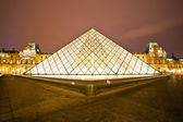 The Louvre Art Museum — Stock Photo