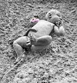 «младенцем»-это скульптура — Стоковое фото