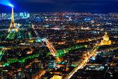 Paris at night. — Stock Photo