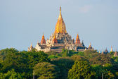 Bagan at Sunset, Myanmar. — Stock Photo