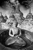 Borobudur Temple, Yogyakarta, Java, Indonesia. — Stock Photo