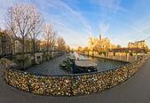Notre dame de Paris, France. — Stock Photo