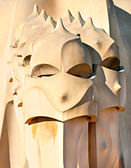 Casa Mila, or La Pedrera — Stock Photo