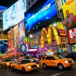 NEW YORK CITY -MARCH 25. Times Square, featured with Broadway heaters and animated LED signs, is a symbol of New York City — Stock Photo