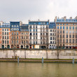 Palais de Justice, Ile de la Cite, Paris - France - Stock Photo