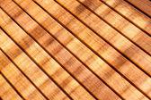 Teak wood table — Stock Photo