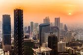 Bangkok Skyline, Thailand — Stock Photo