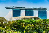 Marina Bay Sands, Singapore, — Stock Photo