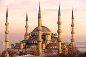 The Blue Mosque, Istanbul, Turkey. — Stockfoto
