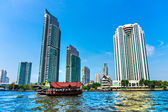 Bangkok Skyline, Thailand — Foto Stock