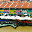 Clarke Quay, Singapore — Stock Photo #35640639