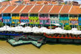 Muelle de Clarke, Singapur — Foto de Stock