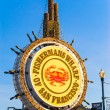 Fishermans Wharf sign in San Francisco December 15, 2013. — Stock Photo