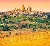 View of san gimignano, Tuscany, Italy. — Stock Photo