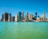 Aerial view of Manhattan, New York City. USA. — Stock Photo