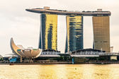 Marina Bay Sands, Singapore — Stock fotografie