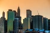 曼哈顿,纽约城的鸟瞰图。美国. — 图库照片