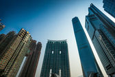 Modern office buildings in Hong Kong. — Stock Photo