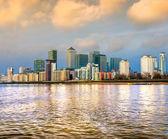 英国伦敦,金丝雀码头 — 图库照片