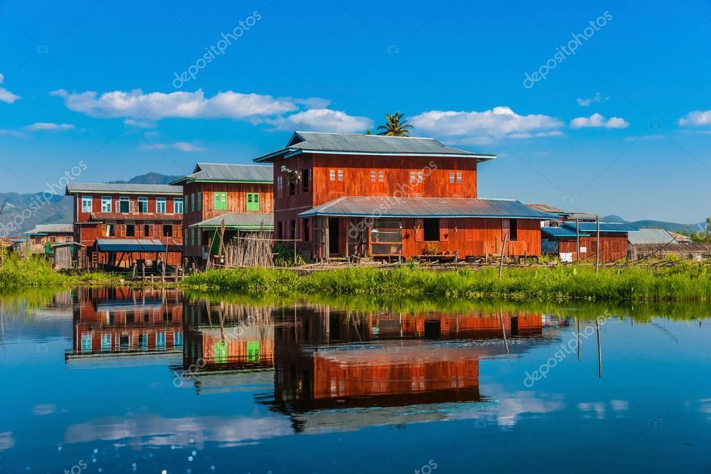 Indein, Inle Lake, Myanmar. Stock Images - Image: 17741804
