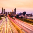 Stock Photo: Skyline of downtown Atlanta, Georgia, USA
