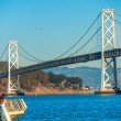 Bay bridge, San Francisco, California, USA. — Stock Photo #39639591