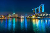 Singapore city skyline. — Stok fotoğraf