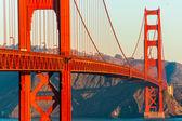 Golden gate, san francisco, california, estados unidos. — Foto de Stock