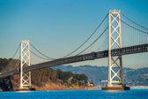 湾大桥桥,旧金山,加利福尼亚州,美国. — 图库照片