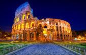 The Majestic Coliseum, Rome, Italy. — Stock Photo