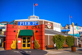 SAN FRANCISCO, CALIFORNIA - december 13: Pier 39 fisherman's wha — Stock Photo