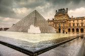 PARIS-DECEMBER 06: The Louvre Art Museum on December 06, 2012 in — Stock Photo