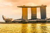 Marina Bay Sands, Singapore, — Стоковое фото