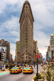Flat Iron building , New York City. — Stock Photo