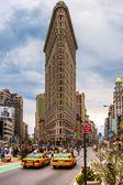 Flat Iron building , New York City. — Stock Photo