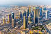 Dubai skyline, UAE — Stock Photo