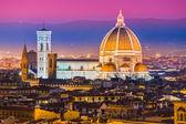 Florence, Duomo and Giotto's Campanile. — Stock Photo