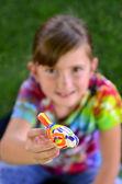 Young Artist Girl — Fotografia Stock