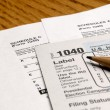 Tax Forms — Stockfoto #13788583