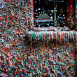 Seattle Gum Wall - Stock Photo