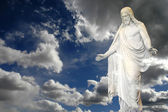 Jesus and Clouds — Stock Photo