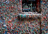 Seattle Gum Wall — Stock Photo