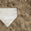 Stock Photo: Home Plate