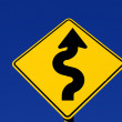 Curves Ahead - Stock Photo