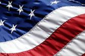 Amerikanska flaggan — Stockfoto