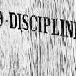 Discipline — Stock Photo #15019379